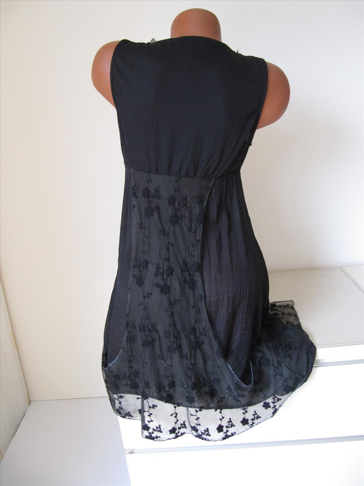 Kleid seide 36