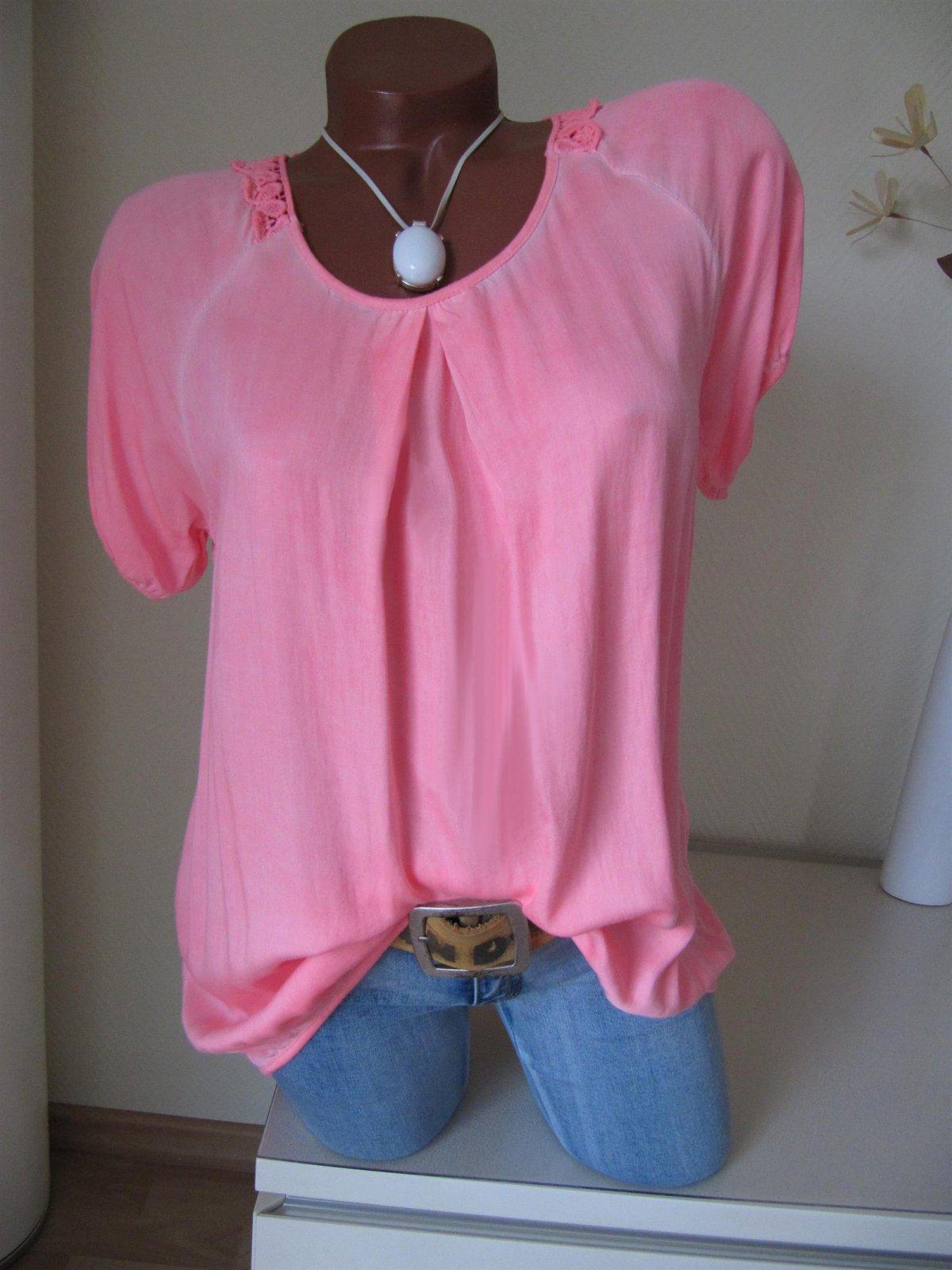 tunika bluse shirt kellerfalte h kel spitze batik 36 38 40 42 a. Black Bedroom Furniture Sets. Home Design Ideas