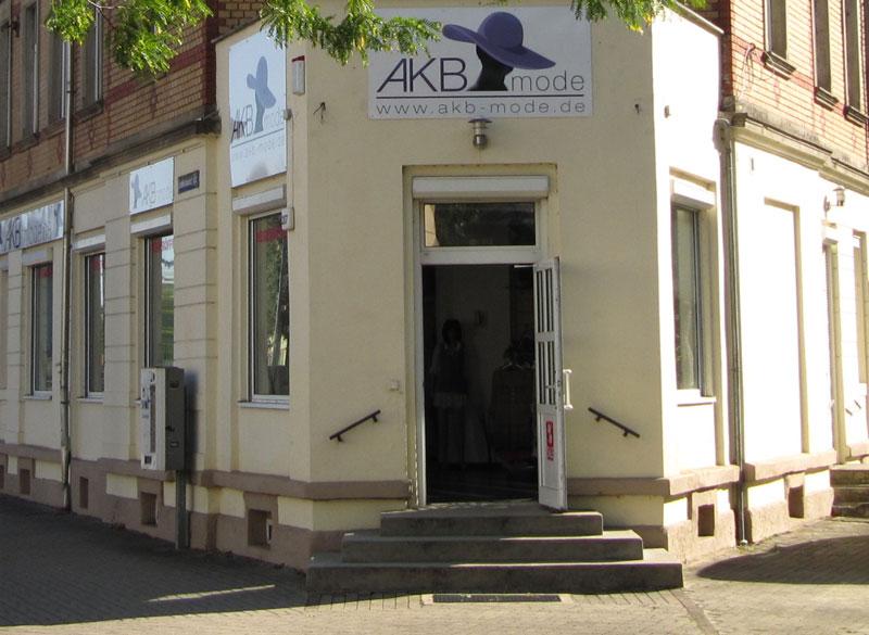 Außenansicht - AKB Mode Dresden